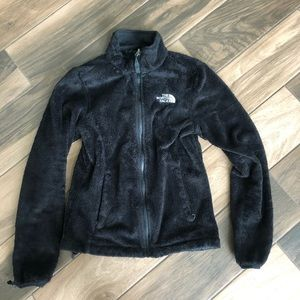 The North Face zip-up furry lightweight jacket